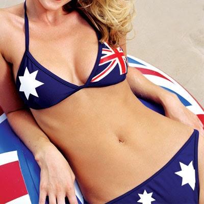 Australia Day bikini