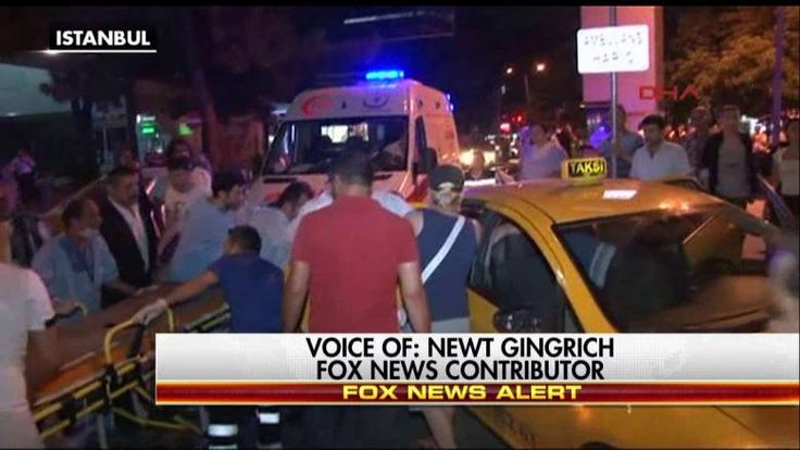 Tonight on Hannity, Newt Gingrich responded to the Istanbul terror attacks and President Obama and Hillary Clinton's approach to fighting radical Islamic terrorism.......... #HorribleHillary #CrookedHillary #VOTETRUMP2016