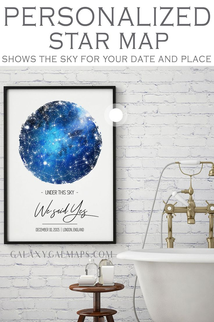 Get UNIQUE Sky Map for That Special Date  – Gifts For Boyfriend, Mothers Day Grandma, Cat Lover Gift, 18Th Century Decor, Kid Child Children, Taurus Z…