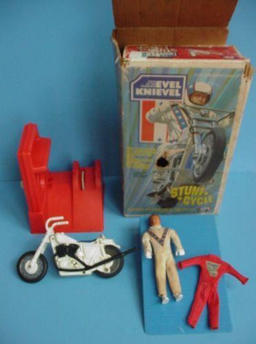 vintage ideal 1970s evel knievel motorcycle stunt. Black Bedroom Furniture Sets. Home Design Ideas