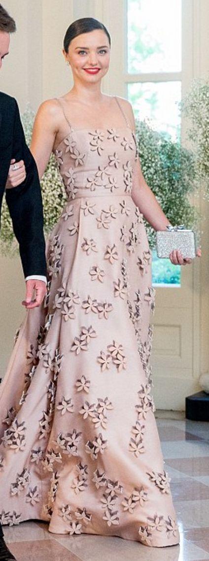 Miranda Kerr in a Carolina Herrera Fall 2016 gown - May 13, 2016