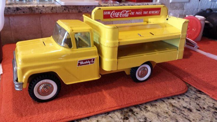 1960's Buddy L Coke truck