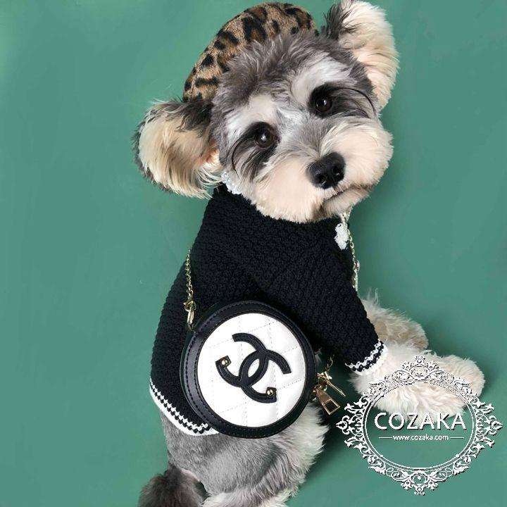 ペットアクセサリー 犬用 ショルダーバッグ おしゃれ Chanel ココマークパロディ風 犬用品 Pets Dogs Pet Boutique