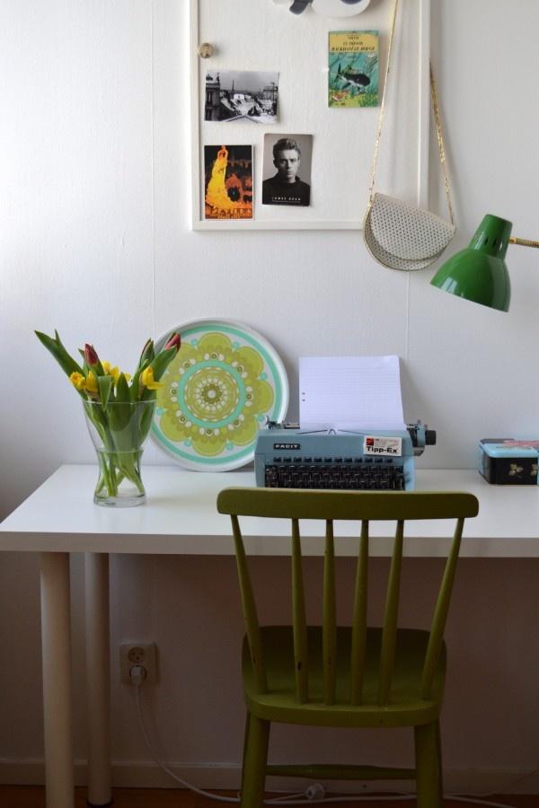 Skrivemaskin som fungerer!