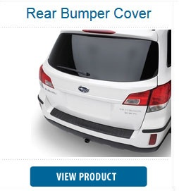 Helps protect the upper surface of the painted bumper from scratches and dings on your Subaru Outback.