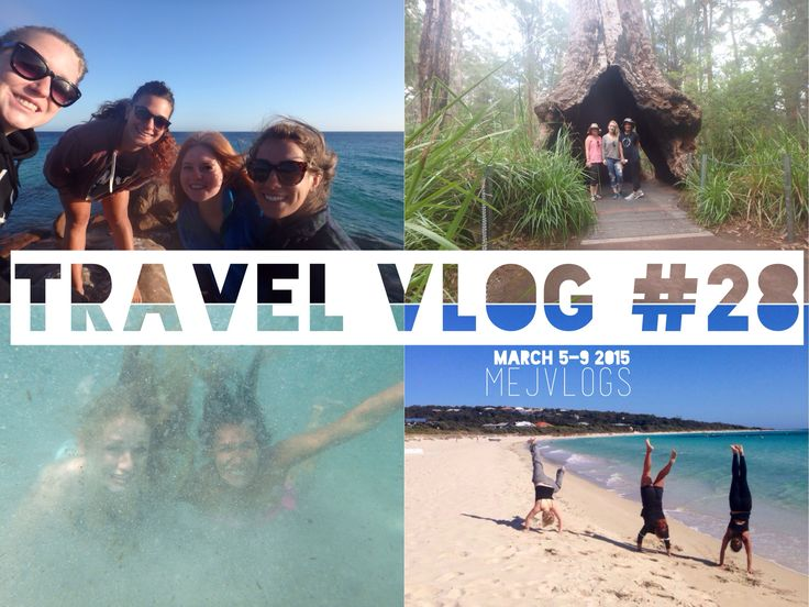 caves and climbing in trees and beaches and roadtrips! click for youtube