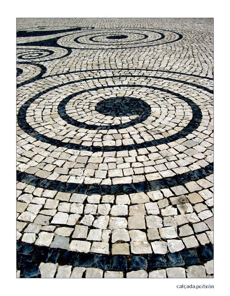 would be beautiful in a garden or as a driveway - calcada portuguesa by ~peitxon on deviantART