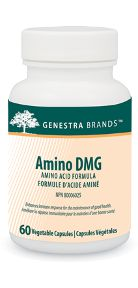Amino DMG by Genestra. Amino DMG provides the purest source available of the amino acid N, N-dimethylglycine, to enhance immune response for the maintenance of good health.