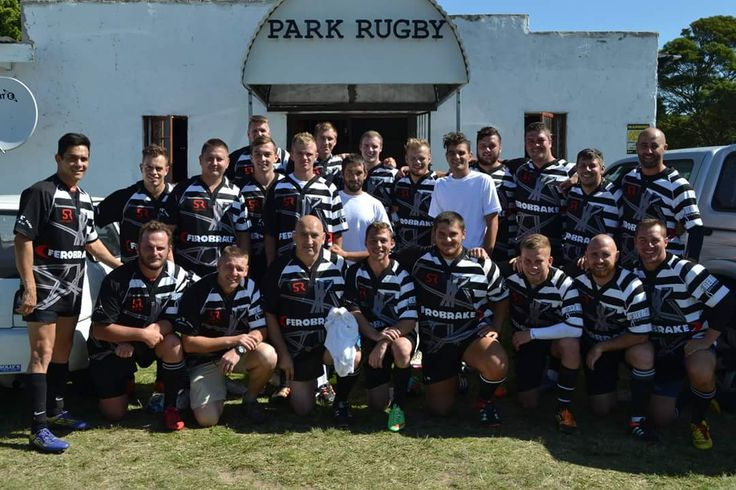 The boys from Parks Rugby Club kitted out in #custom kit.  Ready for the 2016 season