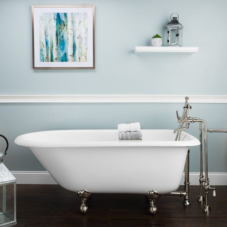 The 22 best Cast iron tub images on Pinterest | Bathtub, Soaking ...