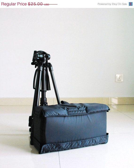 Nero in vendita venerdì 30% - inserto borsa fotografica - per Messenger Borsa, zaino, borsa di tela, resistente all