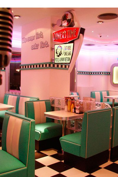17 best ideas about 1950s diner on pinterest 1950s vintage diner and retro. Black Bedroom Furniture Sets. Home Design Ideas