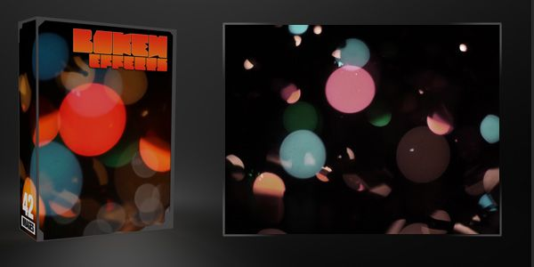 Photoshop textures : bokeh light effects