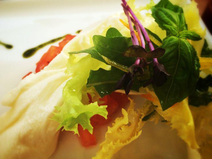 Buffalo cheese salad #restaurantjoseph #bucharest #delicious #guiltypleasure