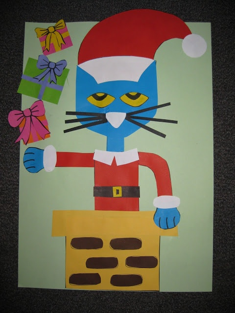 29 best images about education pete the cat saves for Christmas crafts for kindergarten class