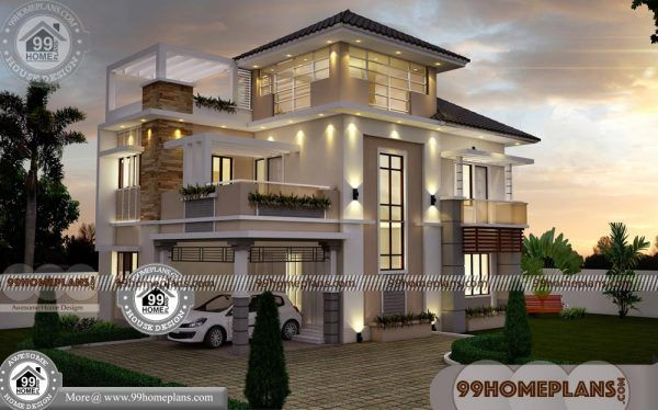 Kerala New House Model 75 Indian House Designs Three Floor Plans Indian Home Design Bedroom House Plans Craftsman Style House Plans
