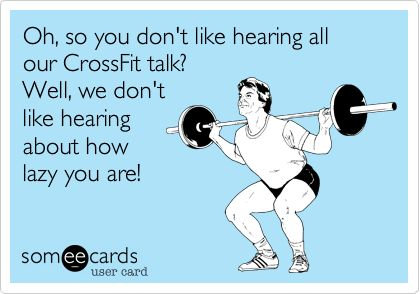 Could not agree with this more! I don't want to hear any whining about how unhappy you are with you body if you're unwilling to do anything about it! I keep myself accountable in many ways. #crossfit #fitshaming