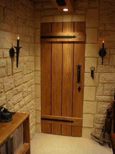 Medieval tavern themed gaming room  even the power outlets look olde. 17 Best ideas about Nerd Room on Pinterest   Ewok  Terrarium and