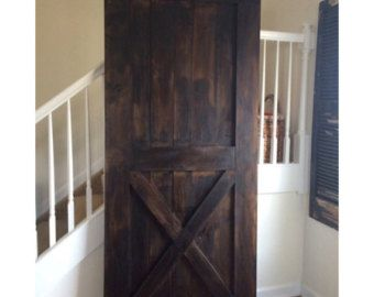 Image Result For Dark Brown Stained Barn Door Barn Door Barn Door Handles Sliding Barn Door