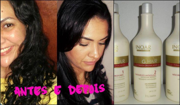 Como fazer escova progressiva em casa - Escova Progressiva G Hair INOAR