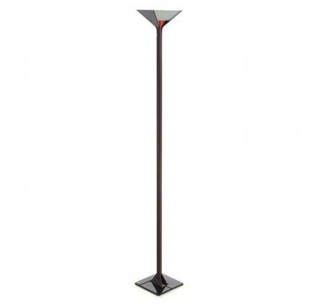 BrixXo - Lampen. De ontwerper van deze moderne design lamp is Tobia Scarpa.  De reflector/diffusor zijn gemaakt van prismatisch, gemetalliseerd glas. De diffusorhouders en en de sokkel zijn gemaakt van drukgegoten aluminium. De schacht is vervaardigd van geëxtrudeerde aluminium. De vloerlamp is voorzien van een vloerdimmer. Lengte van het snoer 203 cm. De Flos papillona is geschikt voor een 300 watt halogeenlamp R7s.