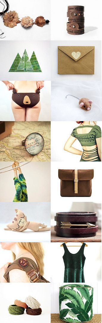 Inspired by nature by Kasia on Etsy--Pinned with TreasuryPin.com