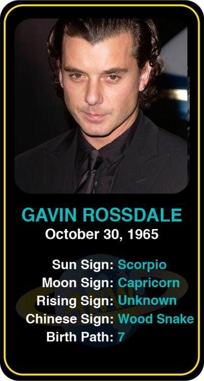 Celeb #Scorpio birthdays: Gavin Rossdale's astrology info! Sign up here to see more: https://www.astroconnects.com/galleries/celeb-birthday-gallery/scorpio?start=30 #astrology #horoscope #zodiac #birthchart #natalchart #gavinrossdale