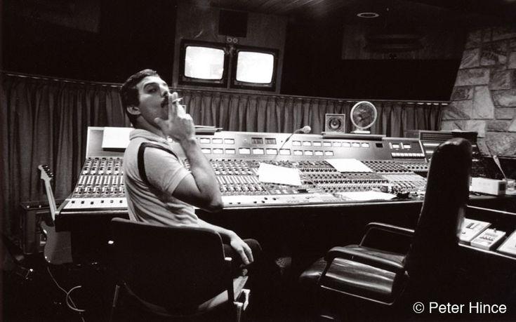 Inside the studio where Freddie Mercury sang his last song - Telegraph