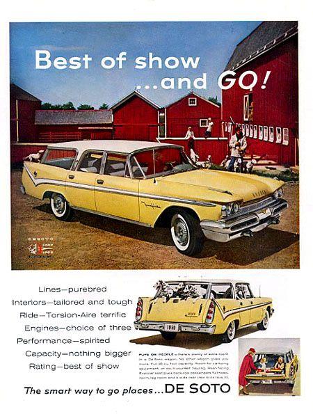 1959 DeSoto Fireflite Shopper Station Wagon