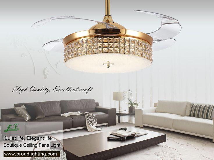 42 inch retractable ceiling fan