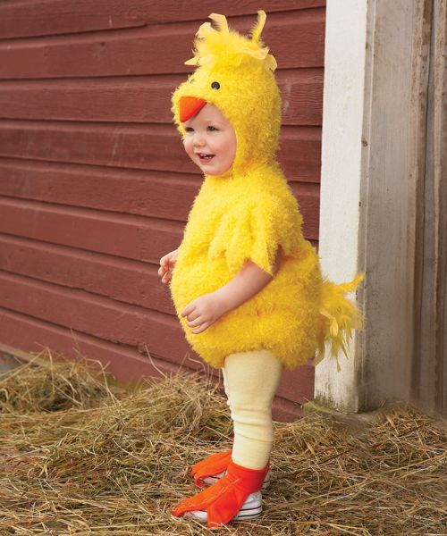 baby chick costume