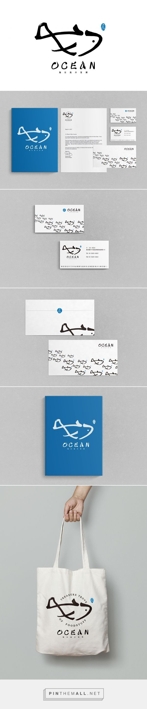 OCEAN Branding on Behance | Fivestar Branding – Design and Branding Agency & Inspiration Gallery