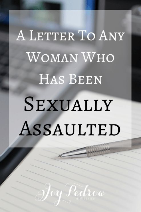 #NEWPOST A letter to any woman who has ever been sexually abused or assaulted from a man's perspective.
