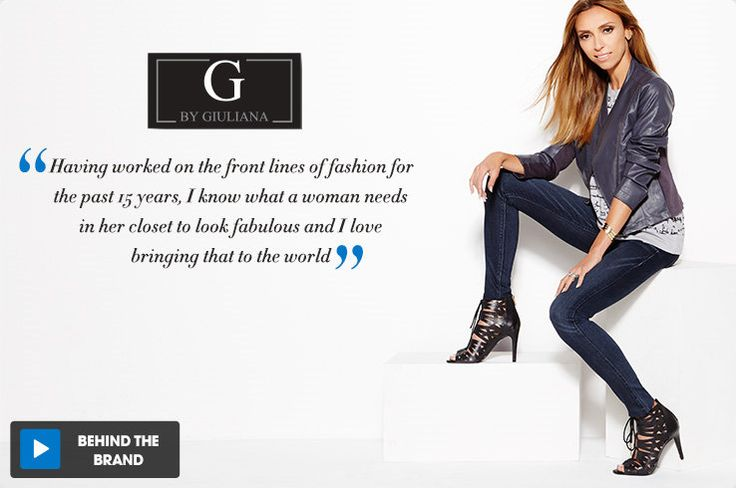 G by GIULIANA RANCIC Women's Fashion & Style | HSN