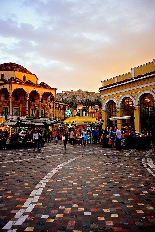 Monastiraki, Athens, Greece