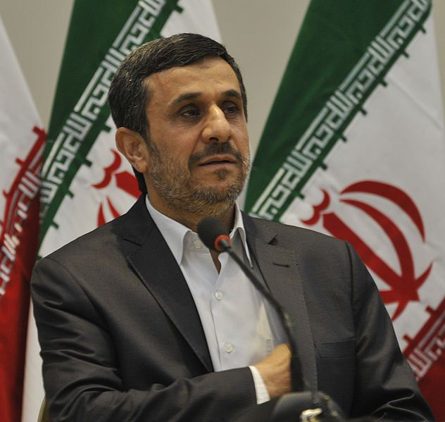 Ahmadinejad, Mahmoud biography via Wikipedia