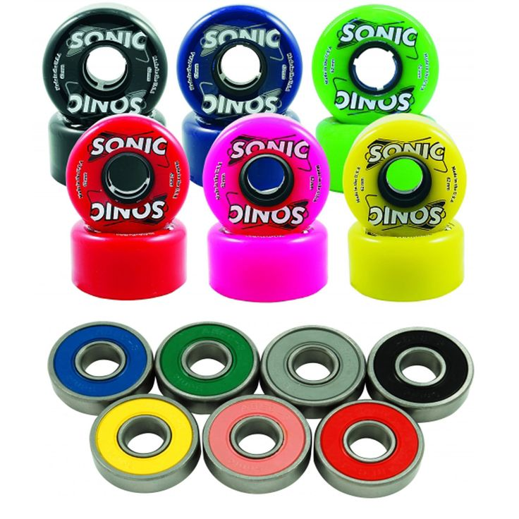 Men 71155: Outdoor Roller Skate Wheels And 8Mm Bearing Sonic 85A With Sonic Abec 3 -> BUY IT NOW ONLY: $65 on eBay!