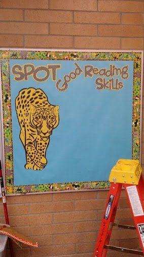Literacy, Good Reading Skills, Spot, Tiger, Spot the Tiger, Display, Classroom Display, Early Years (EYFS), KS1 & KS2 Primary Teaching Resou...