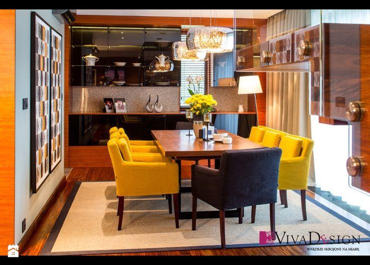 Jadalnia - zdjęcie od Pracownia Projektowania Wnętrz Viva Design - Jadalnia - Styl Rustykalny - Pracownia Projektowania Wnętrz Viva Design