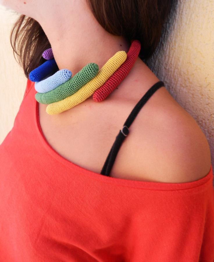 Colier ( Momentan rezervat pentru expozitie) de lida.accessories Breslo
