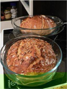 Úžasný chleba bez hnětení, bez pekárny a téměř bez práce