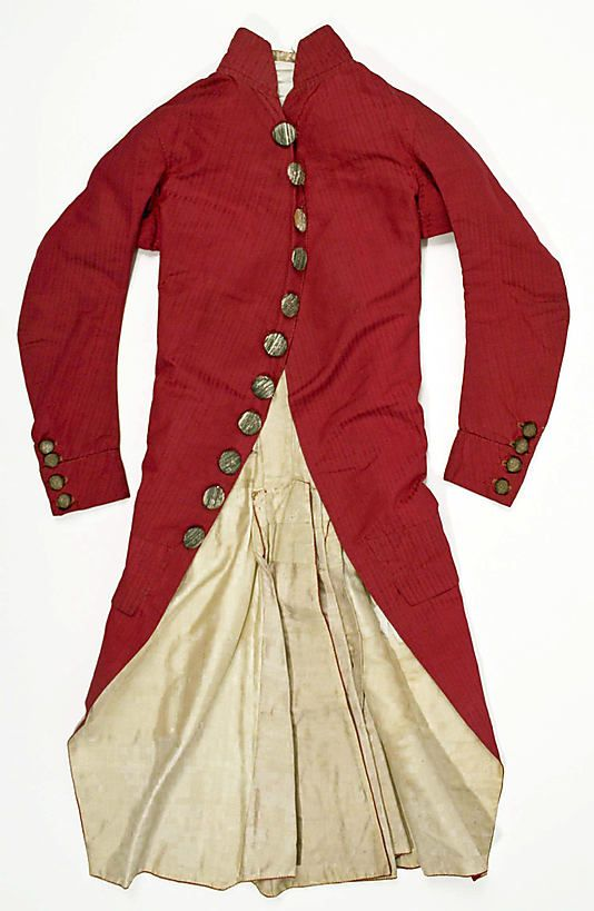 Suit  Date:     ca. 1780 Culture:     Italian Medium:     silk Dimensions:     a) 38 1/2in. (97.8cm) b) 21in. (53.3cm) Credit Line:     Roge... Accession Number: 26.56.14a, b