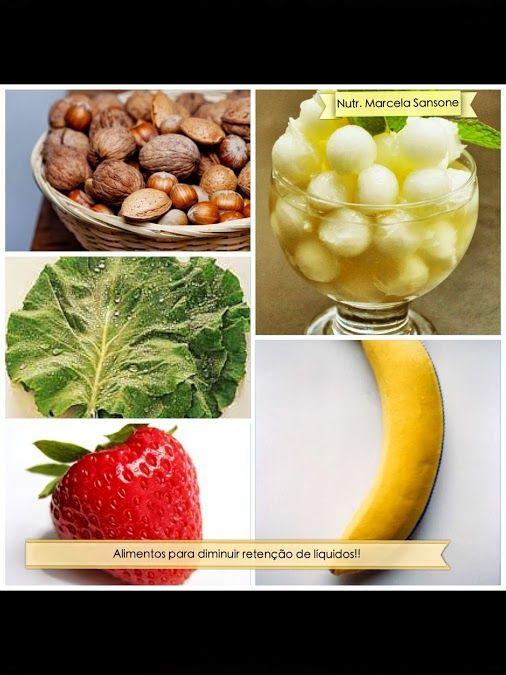 Nutrição Holística: Alimentos certos para diminuir a retenção de líquidos!