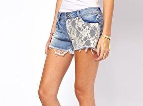 Denim shorts www.asos.com