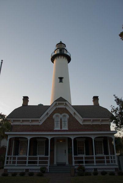 St. Simmons Lighthouse, St. Simmons Georgia