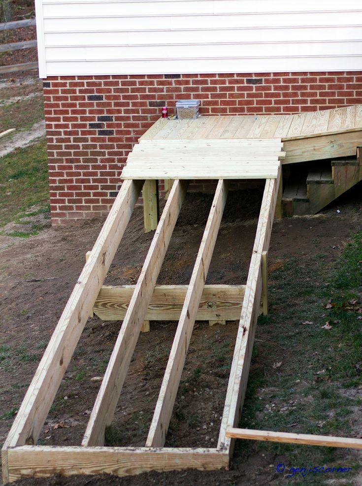 143 Best Porch Ramps Images On Pinterest Wheelchair Ramp