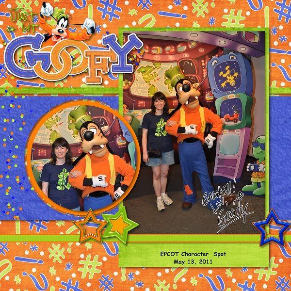 Goofy - MouseScrappers - Disney Scrapbooking Gallery