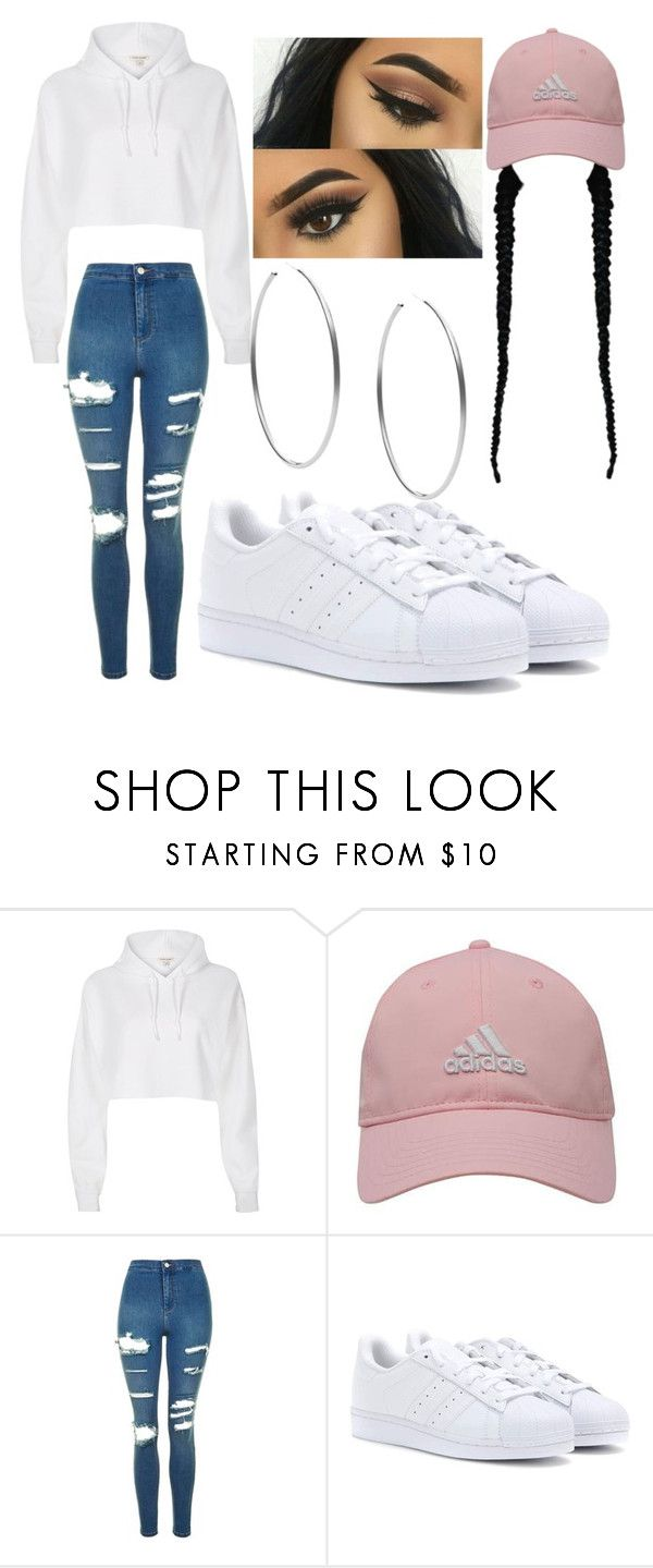 """Untitled #192"" by lovealysah2 ❤ liked on Polyvore featuring River Island, adidas Golf, Topshop, adidas and Michael Kors"