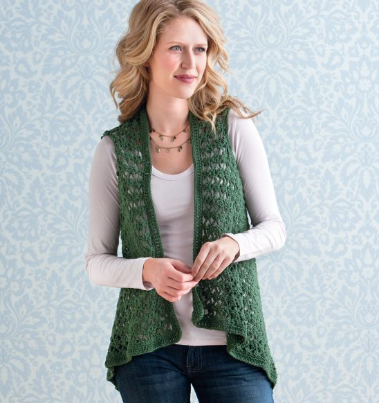 Simple+Crochet+Cardigan | Simply Crochet Countdown to Fun: Float Vest and Cardigan