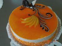 Бисквитный торт тутти фрутти